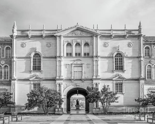 Photograph - Texas Tech University Administration Building by University Icons