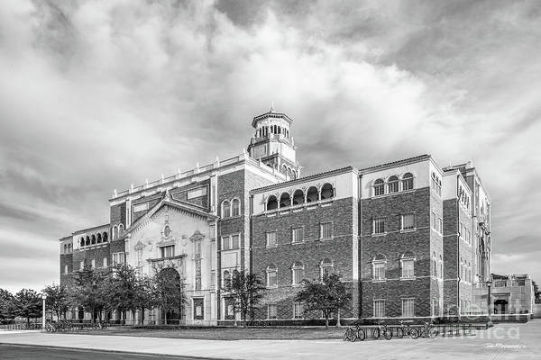 Photograph - Texas Tech University English - Philosphy Building  by University Icons