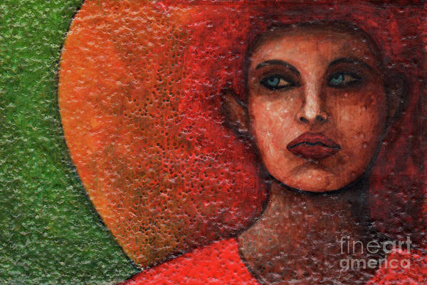 Painting - Textured Beauty 1 by Amy E Fraser