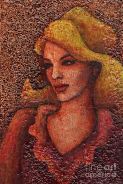 Painting - Textured Beauty 4 by Amy E Fraser