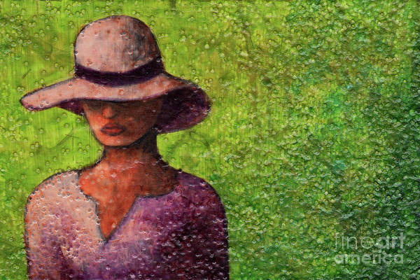Painting - Textured Beauty 9 by Amy E Fraser