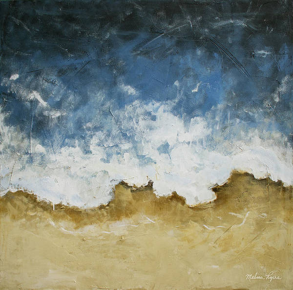 Wall Art - Painting - Textured Shoreline by Melissa Lyons