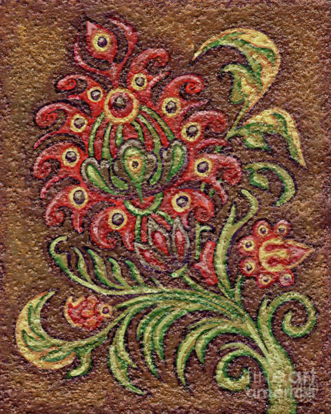 Painting - Textured Tapestry 11 by Amy E Fraser