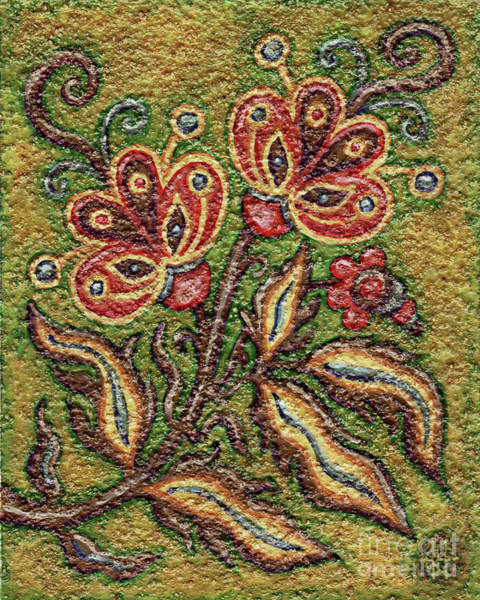 Painting - Textured Tapestry 3 by Amy E Fraser