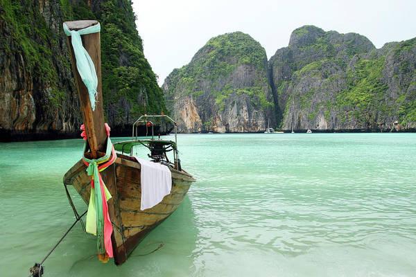 Phi Photograph - Thai Boat by Boryak