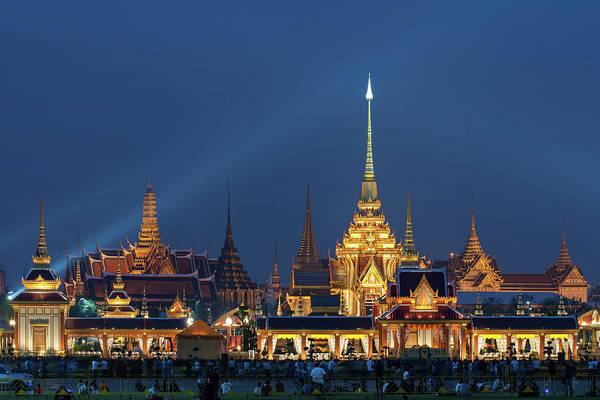 Royalty Photograph - Thai Royal Crematory by Www.tonnaja.com