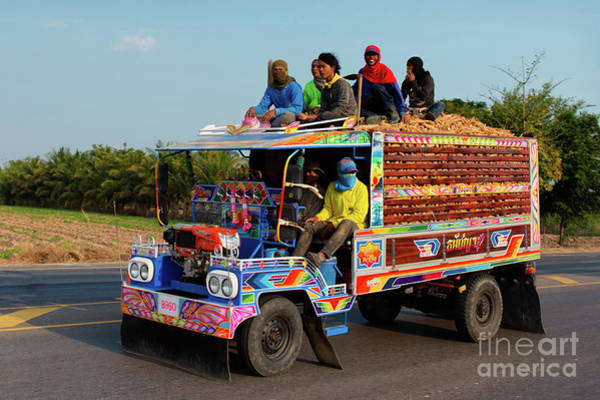 Wall Art - Photograph - Thai Truck by Lee Craker