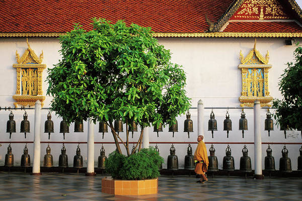 Chiang Mai Province Photograph - Thailand, Chiang Mai, Wat Phra That Doi by David Sanger