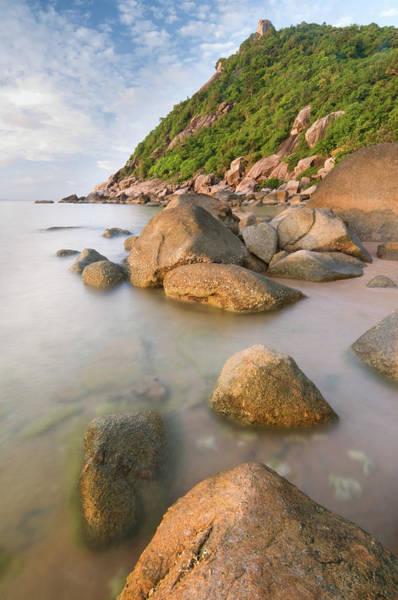 Thailand Photograph - Thailand Coastline Sunrise by Shayes17