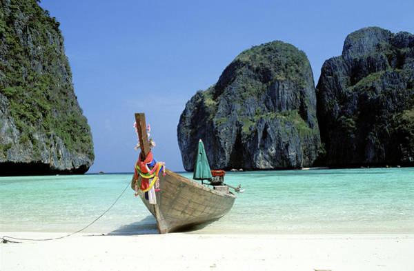 Phi Photograph - Thailand, Ko Phi Phi Archipelago, Ko by Du Boisberranger Jean / Hemis.fr