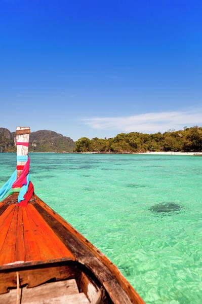 Phi Phi Island Photograph - Thailand, Krabi Province, Ko Phi Phi by Gardel Bertrand / Hemis.fr