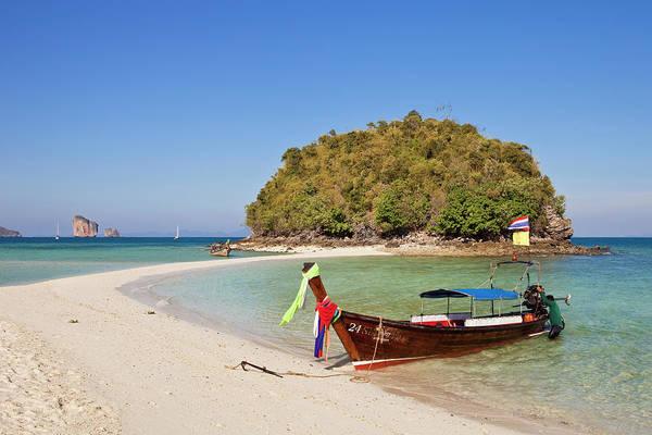 Phi Photograph - Thailand, Krabi Province, Off Railay by Gardel Bertrand / Hemis.fr