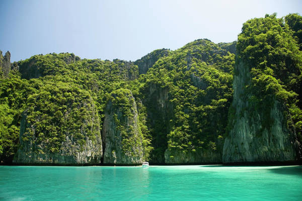 Phi Photograph - Thailand, Krabi Province, Phi Phi by Rene Frederick