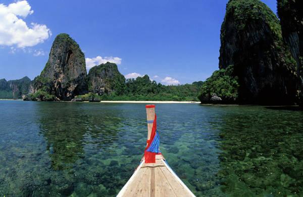 Thailand Photograph - Thailand, Krabi Province, Pra Nang by Tropicalpixsingapore