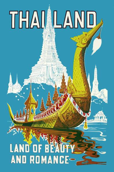 Wall Art - Digital Art - Thailand by Long Shot