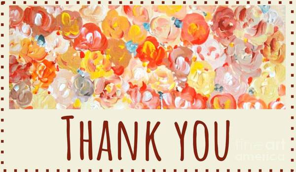 Thank You #2 Art Print