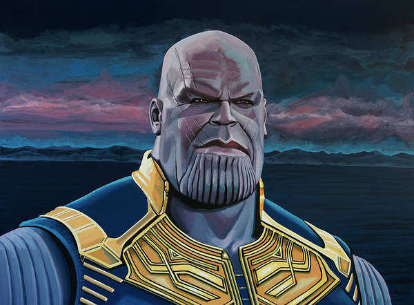 Painting - Thanos Painting by Paul Meijering