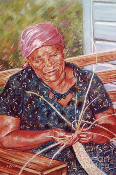 Craft Painting - Thatching by John Clark