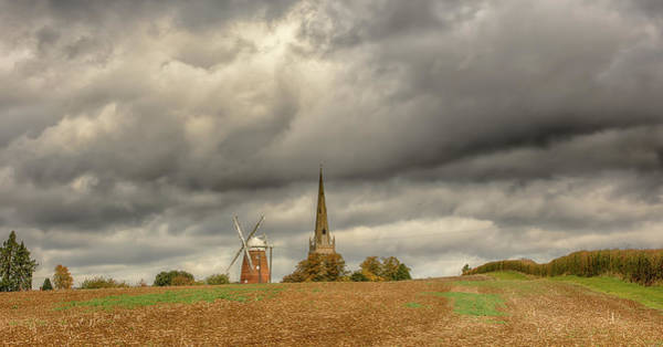 Photograph - Thaxted - An English Countryside View by Chris Cousins