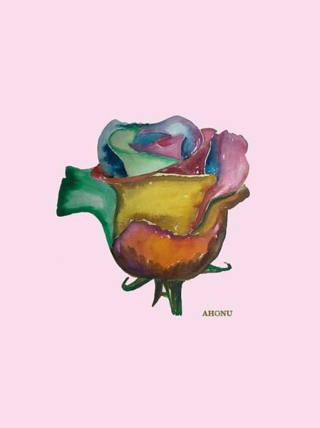 The 1111 Global Rose Art Print