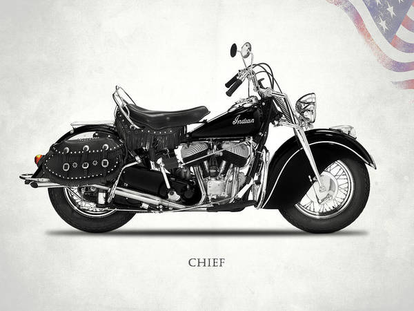 Chiefs Photograph - The 1946 Chief by Mark Rogan
