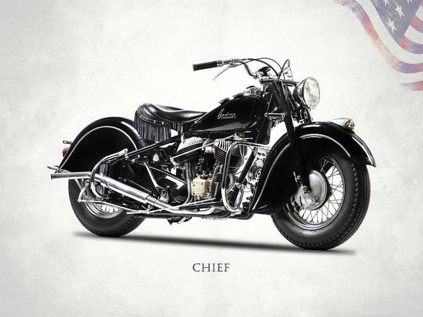 Chiefs Photograph - The 1947 Chief by Mark Rogan