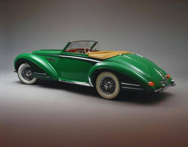 Sport Car Photograph - The 1948 Delahaye 135 Ms Vedette Is A by Car Culture