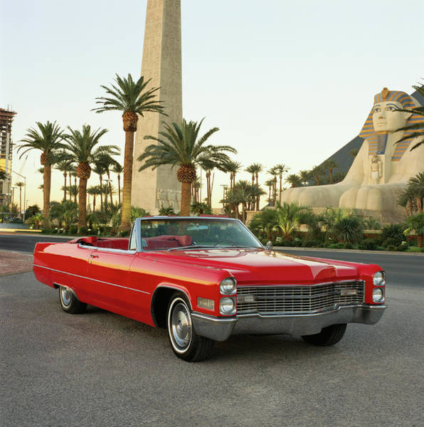 Sport Car Photograph - The 1966 Cadillac Deville Convertible by Car Culture