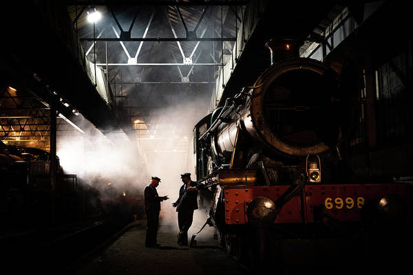 Photograph - The 6998 At Didcot by Framing Places