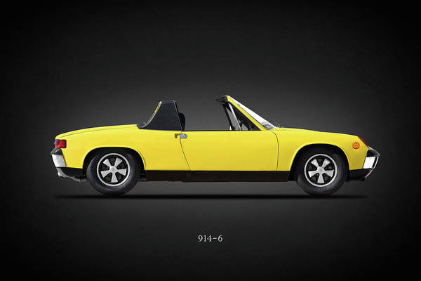 Photograph - The 914-6 Classic Sports Car by Mark Rogan