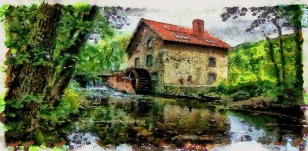Digital Art - The Abandoned Mill by Mario Carini