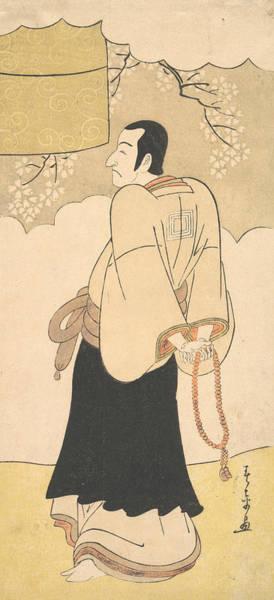 Relief - The Actor Ichikawa Danjuro V by Katsukawa Shunsho