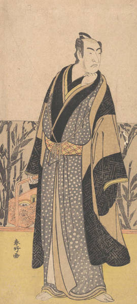Relief - The Actor, Matsumoto Koshiro I In An Unidentified Role by Katsukawa Shunko