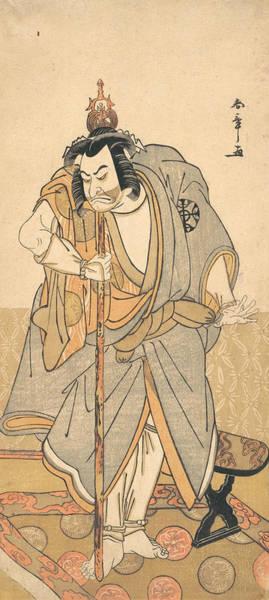 Relief - The Actor Nakamura Nakazo As A Rokuju-rokubu by Katsukawa Shunsho
