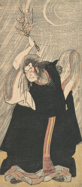 Relief - The Actor Nakamura Nakazo In The Role Of Kan Shojo by Katsukawa Shunsho