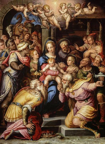 The Adoration Of The Magi, 1567 Art Print