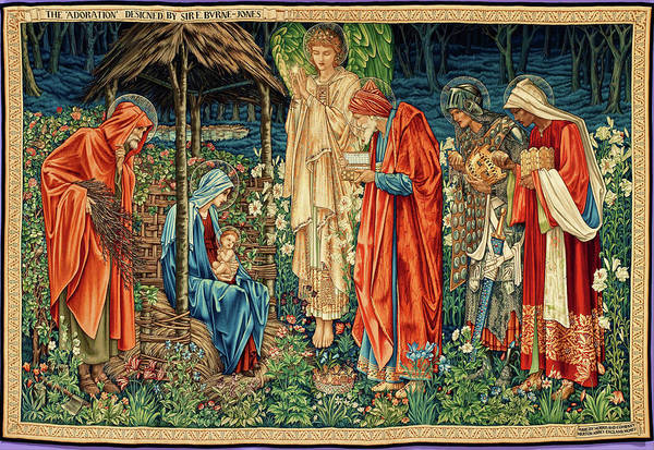 Wall Art - Painting - The Adoration Of The Magi - Digital Remastered Edition by Edward Burne-Jones
