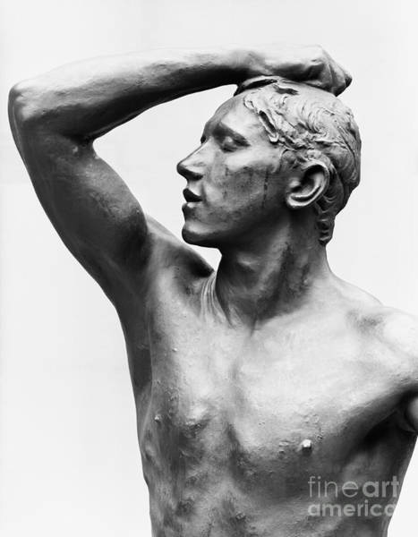 Wall Art - Sculpture - The Age Of Bronze, After 1877 by Auguste Rodin