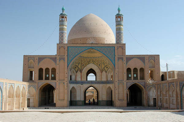 Photograph - The Agha Bozorg Mosque by Photo By Roman Sandoz