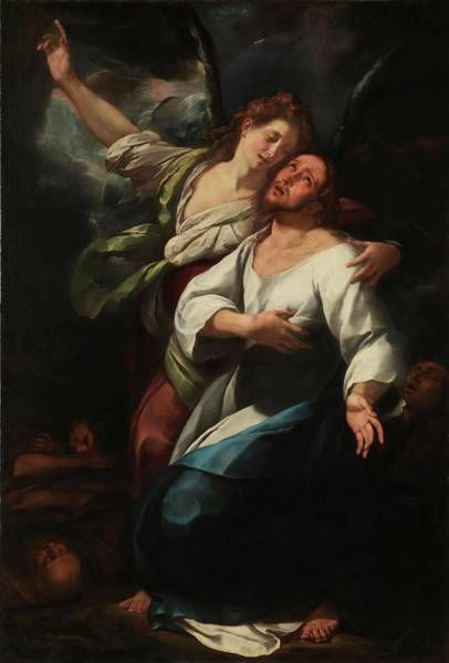 Procaccini Painting - 'the Agony In The Garden'. 1616 - 1620. Oil On Unlined Canvas. by Giulio Cesare Procaccini -c 1570-1625-