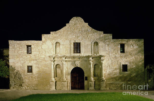 Photograph - The Alamo, C1990 by Carol Highsmith