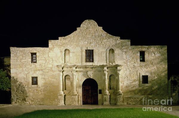 Photograph - The Alamo, C1990 by Carol Highsmith
