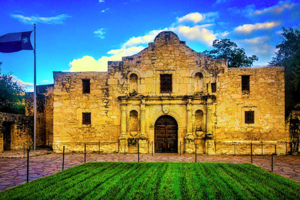 Wall Art - Photograph - The Alamo by Garry Gay