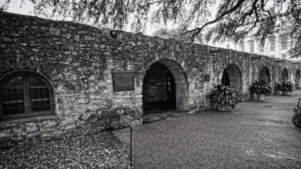 Photograph - The Alamo Long Barracks by George Taylor