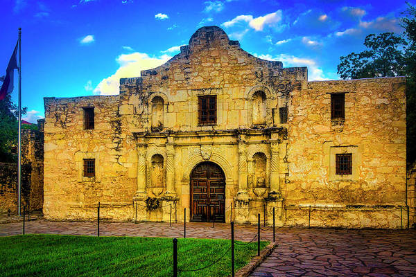 Wall Art - Photograph - The Alamo Mission by Garry Gay