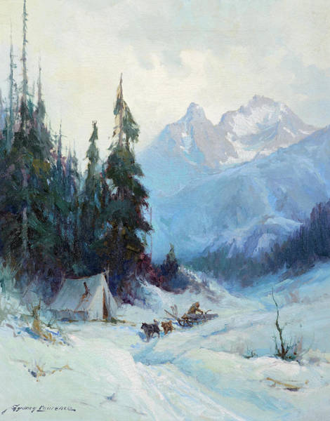 Wall Art - Painting - The Alaska Trail by Sydney Laurence