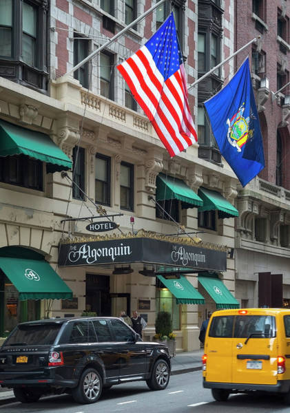 Wall Art - Photograph - The Algonquin Hotel, New York City, Usa by Ken Welsh
