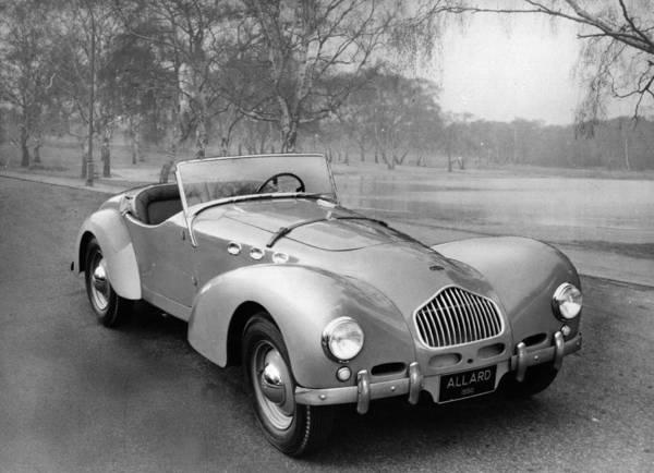 Motor Sport Photograph - The Allard by Ronald Startup