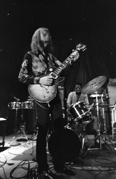 Sitar Photograph - The Allman Brothers In South Carolina by Michael Ochs Archives