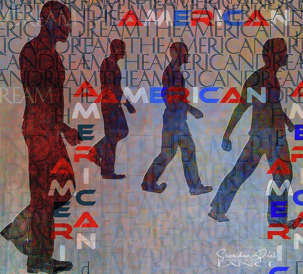 Digital Art - The American Dream by Lance Sheridan-Peel